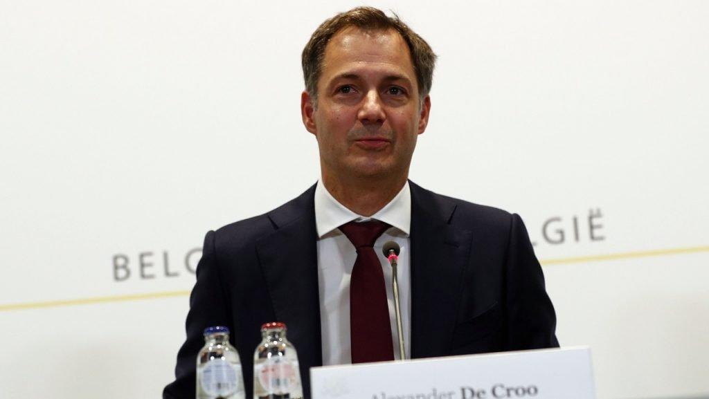Alexander De Croo Overlegcomité horeca
