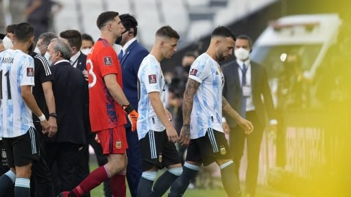 Argentinië Brazilië interland