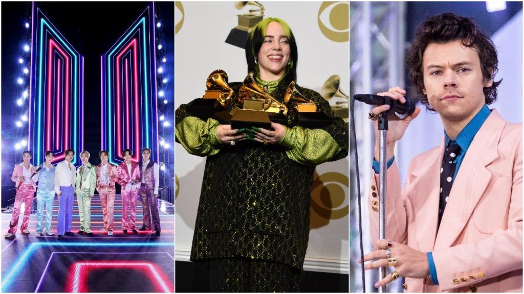 BTS Billie Eilish Harry Styles Grammy Awards