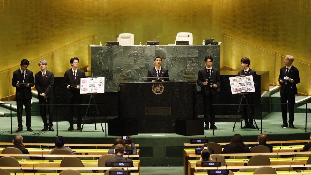 BTS Verenigde Naties speech 2021