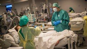 Coronavirus tweede golf ziekenhuis Luik