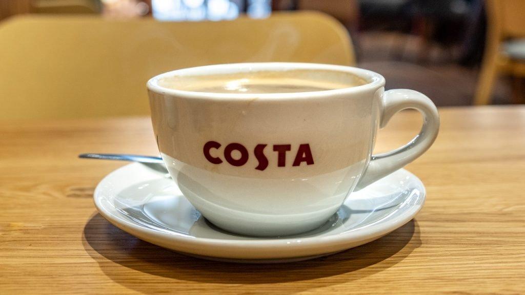 Costa koffie kop