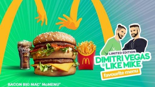 Dimitri Vegas Like Mike McDonald's