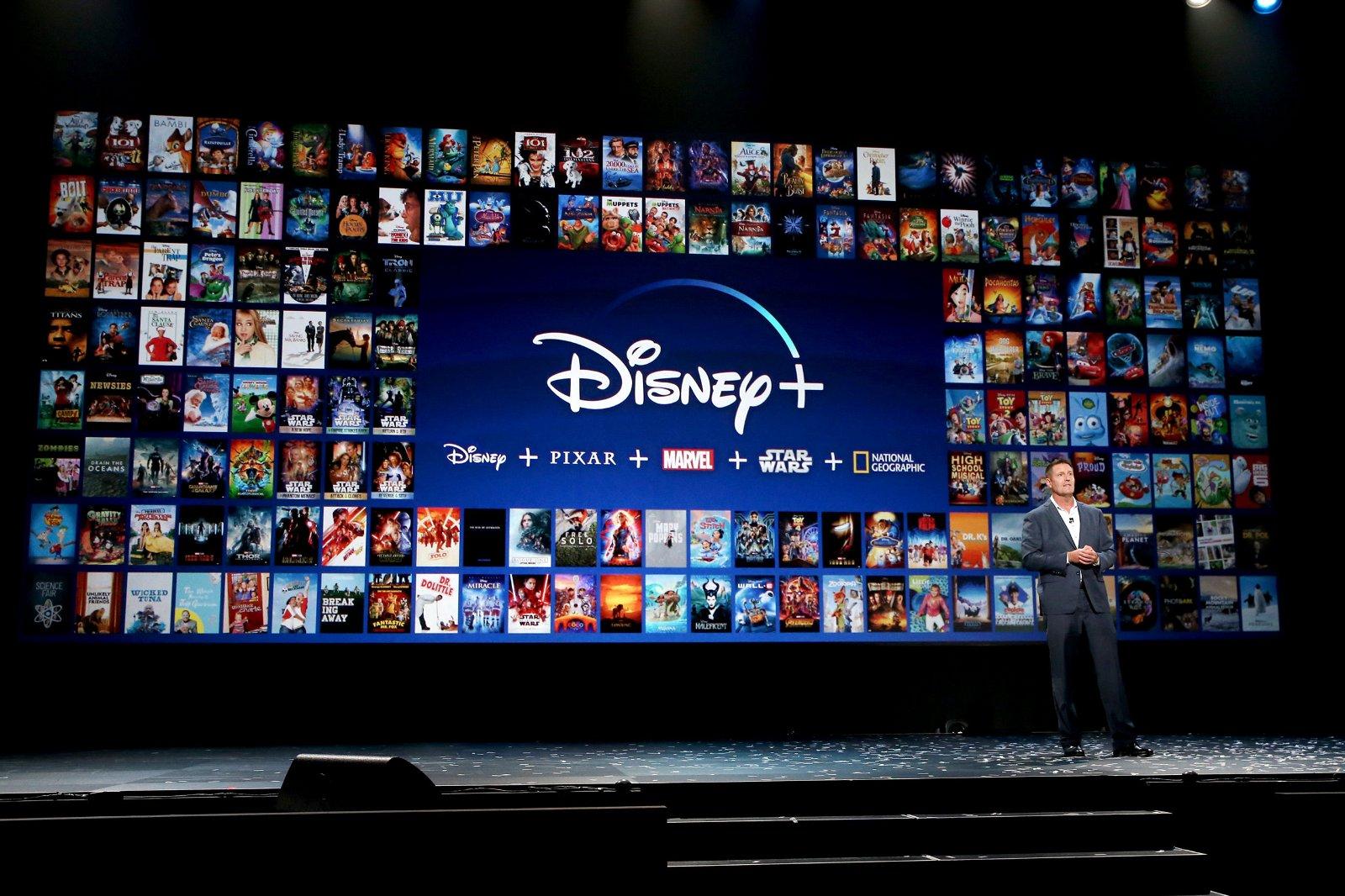 Disney + kampt met een datalek