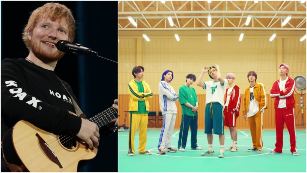 Ed Sheeran BTS