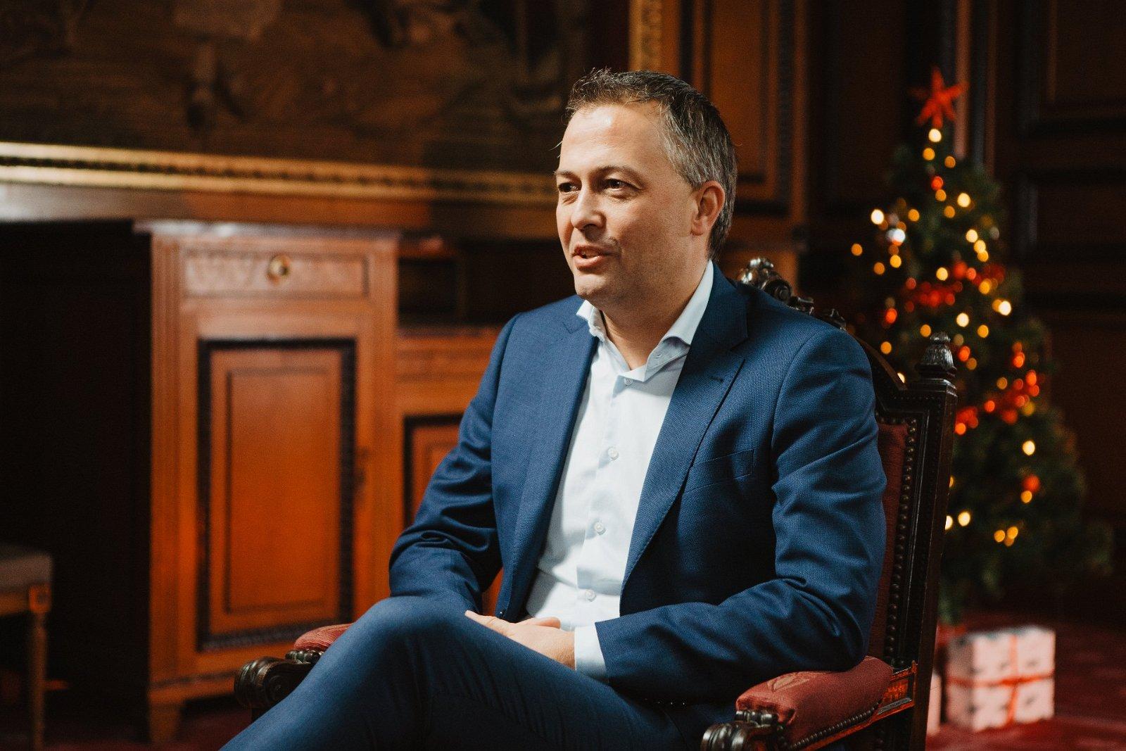 Open Vld-voorzitter Egbert Lachaert: 'Het menselijk liberalisme, dat is er niet alleen voor mensen die het goed hebben'
