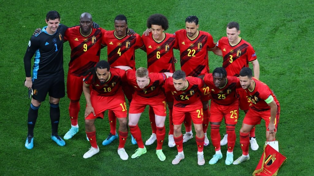 Euro 2020 België ploegfoto