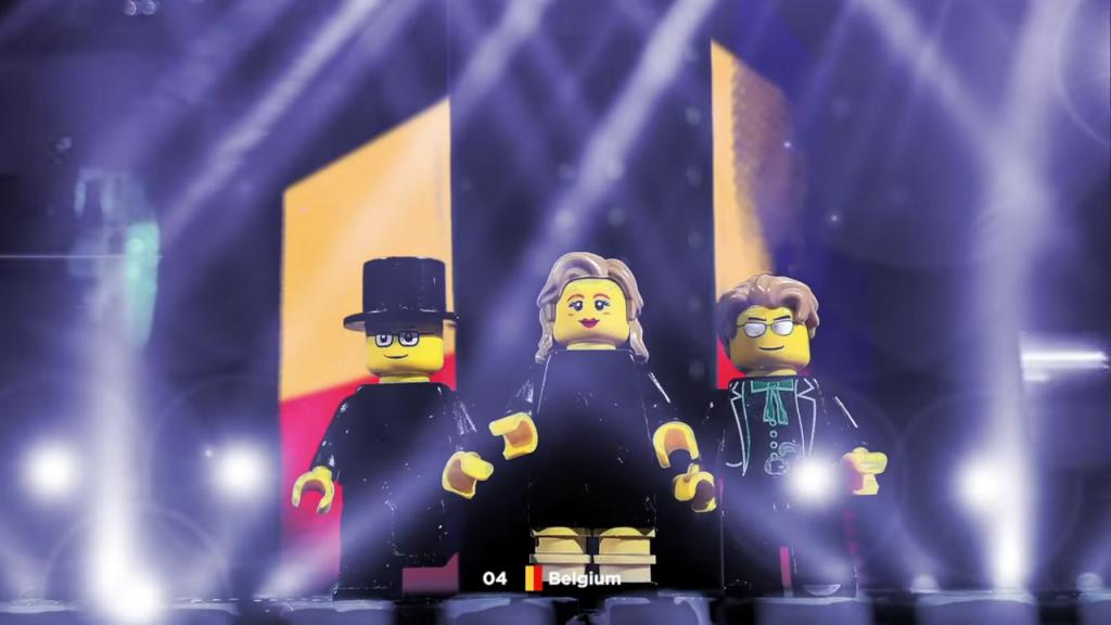 Eurovisiesongfestival LEGO België Hooverphonic