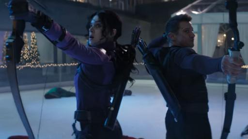 Hawkeye Marvel Disney+ trailer