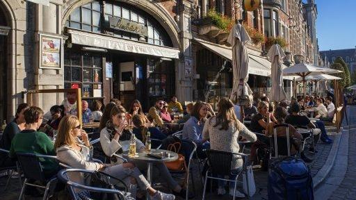 Leuven Oude Markt 2017