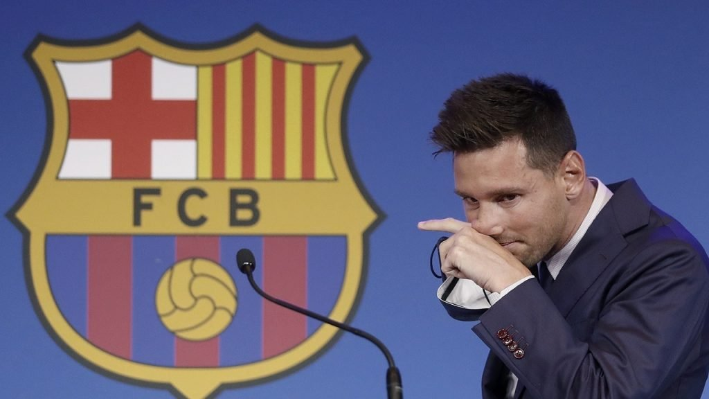Lionel Messi Barcelona afscheid