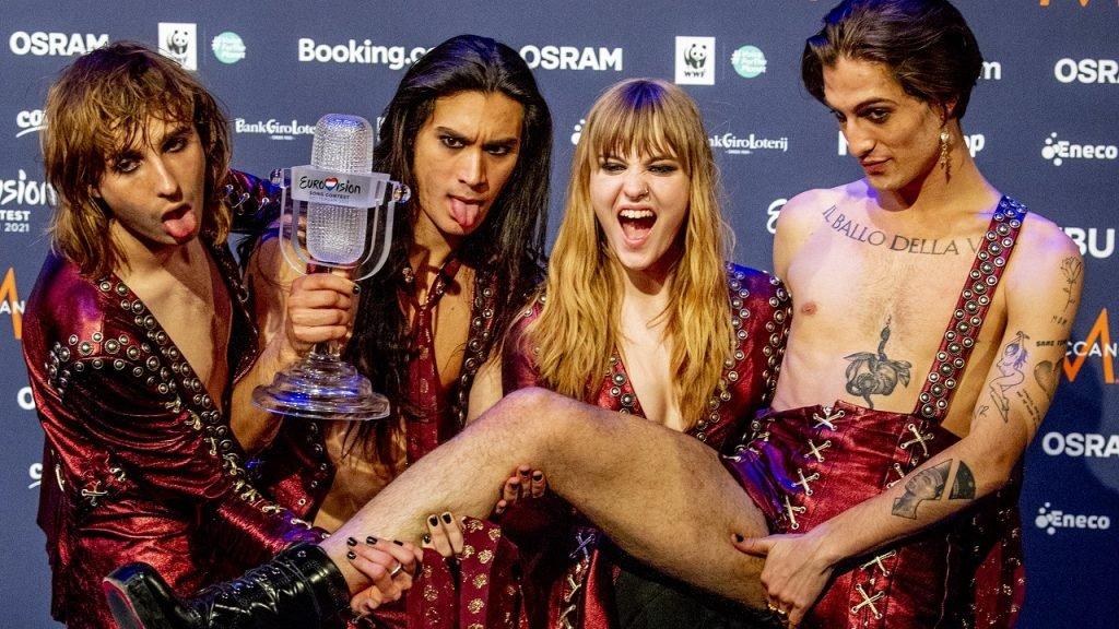 Måneskin Eurovisie groep