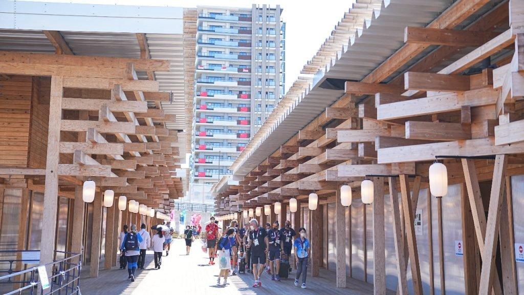 Olympisch dorp Tokio