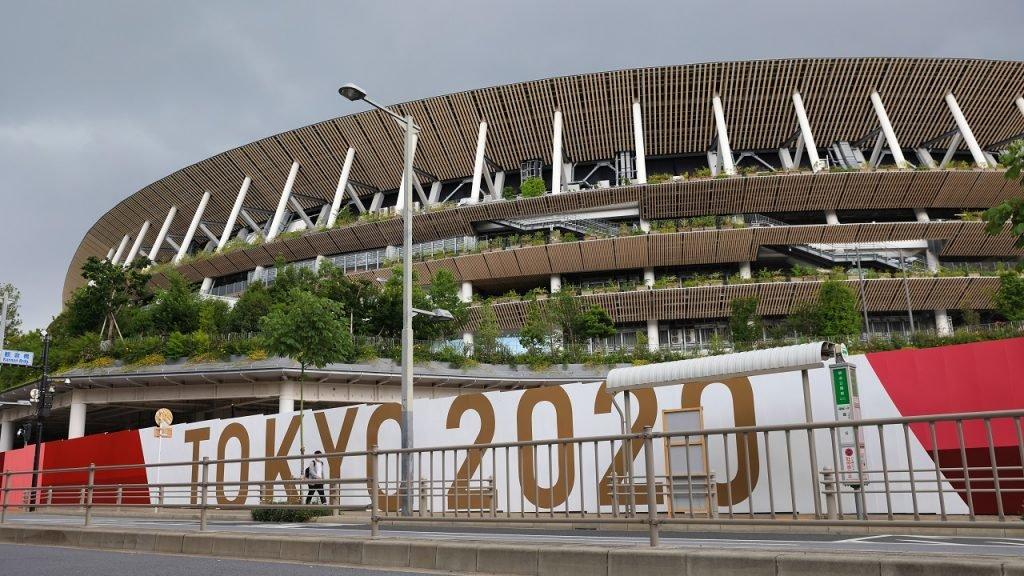 Olympische Spelen Tokyo 2020 Nationaal Stadion