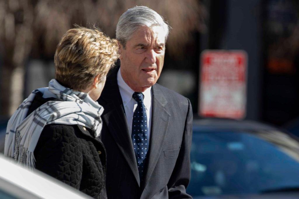 Le procureur spécial Robert Mueller et son épouse