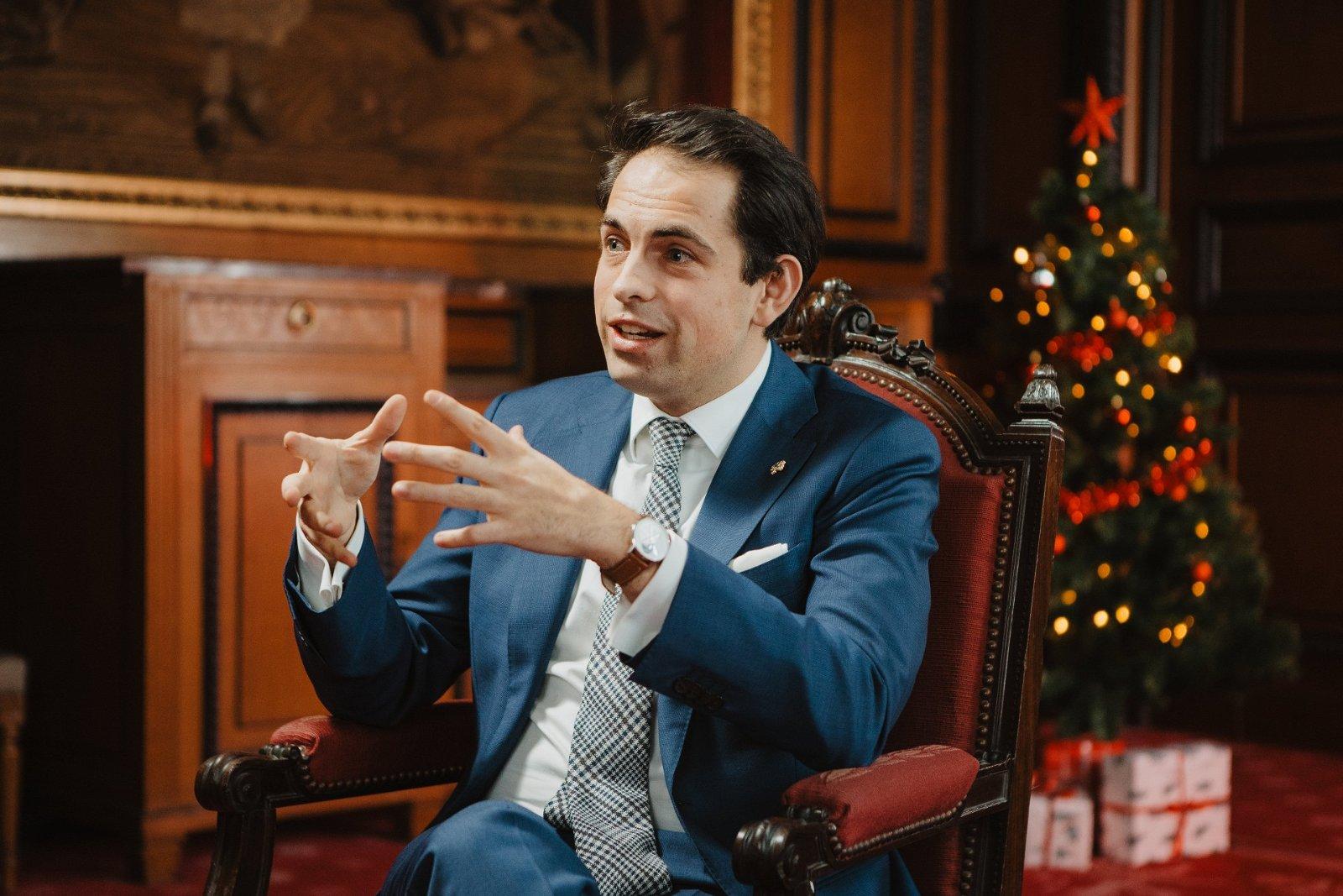 Vlaams Belang-voorzitter Tom Van Grieken: 'Het cordon sanitaire is het probleem geworden van Bart De Wever, niet meer van ons'