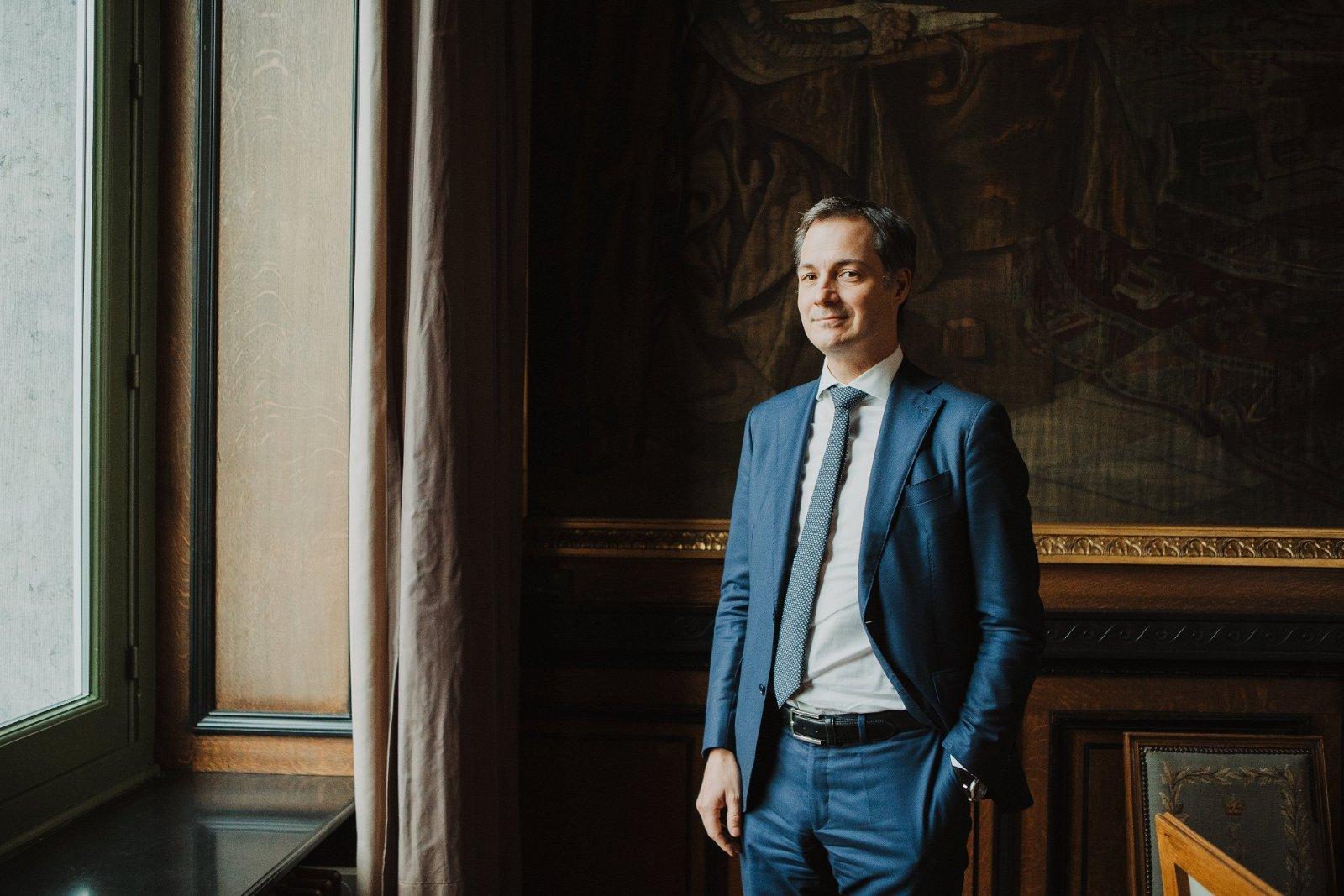 Premier Alexander De Croo (Open Vld): 'We zijn een federaal land in de puberteit, we moeten volwassen worden'