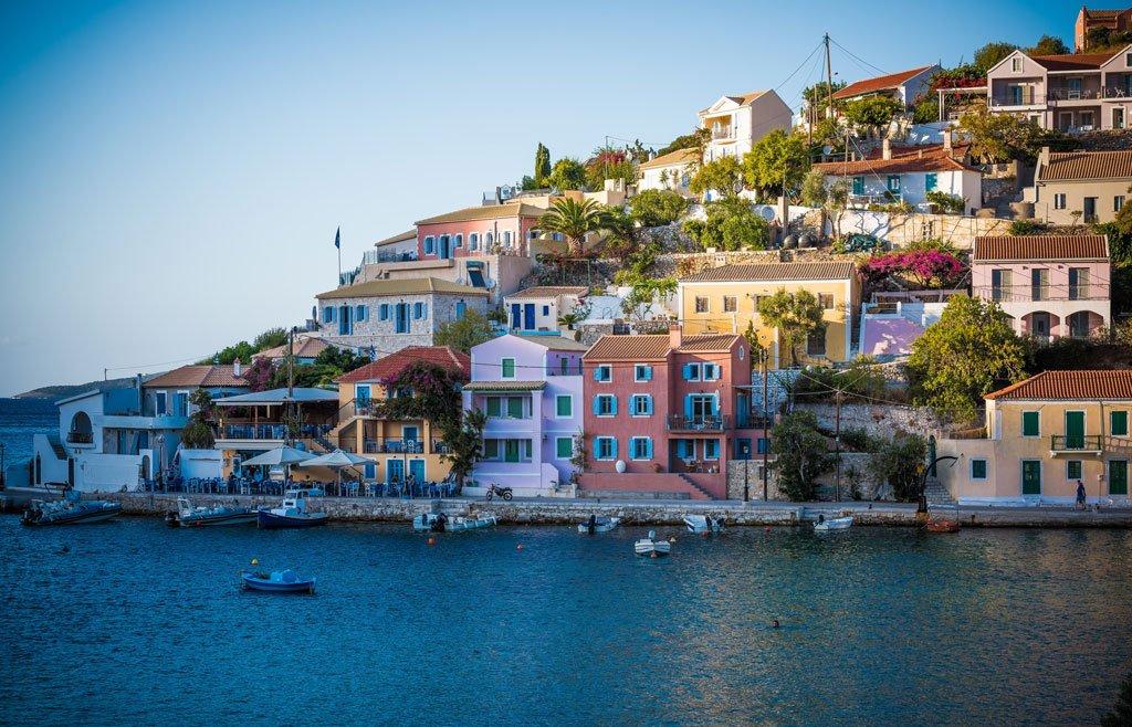 Les rivages d'une île grecque