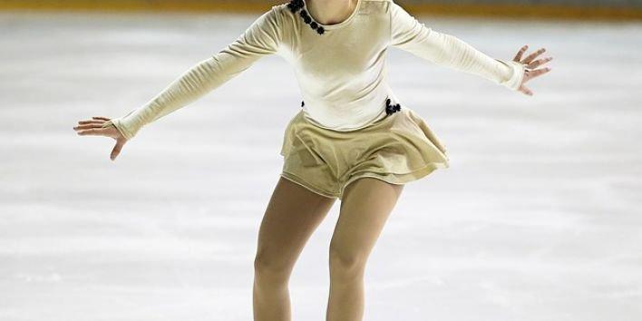 figure-skater girl ice