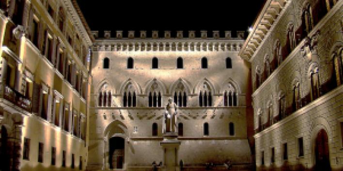 Monte dei Paschi in Sienna