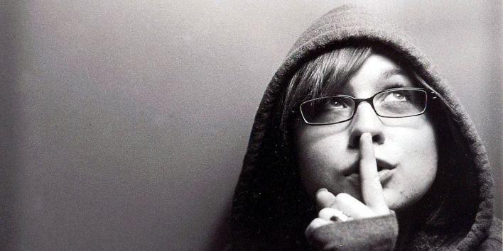 silence don't speak words