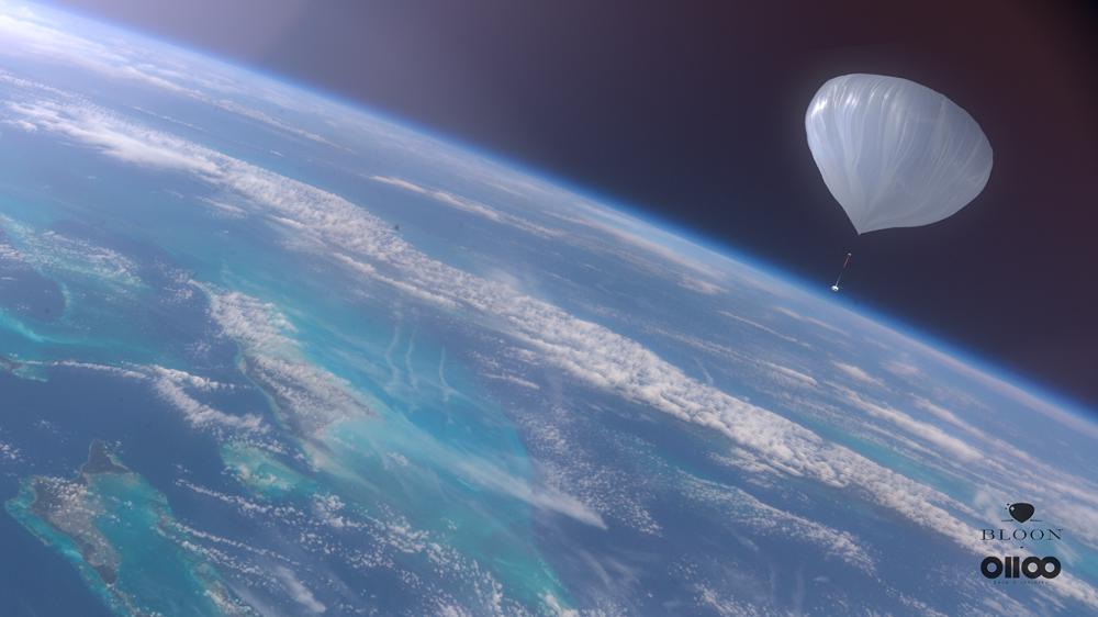 Voyager à 40 km d'altitude à bord d'un ballon gonflé à l'hélium: la proposition originale d'une firme espagnole - Photo : www.zero2infinity.space