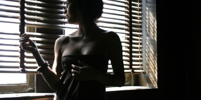 woman shadow dark sexy sensual