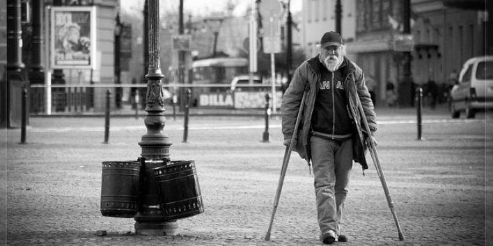 man-street old poor